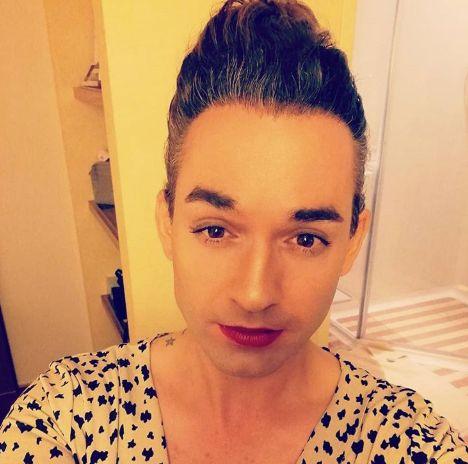 Daniel Küblböck postete vor Aida-Unfall Fotos in Frauenkleidern aus seiner