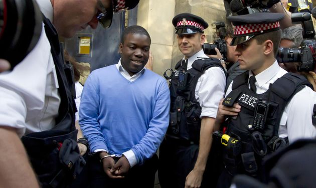 Adoboli leaving City of London magistrates court where he appeared over charges of fraud at banking giant...