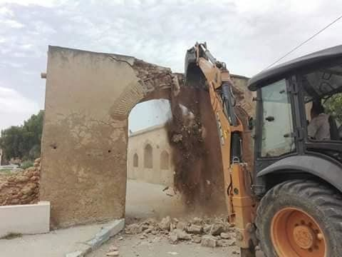 Destruction d'une arcade vieille de plusieurs siècles à Ghar El Melah: Le maire de la ville