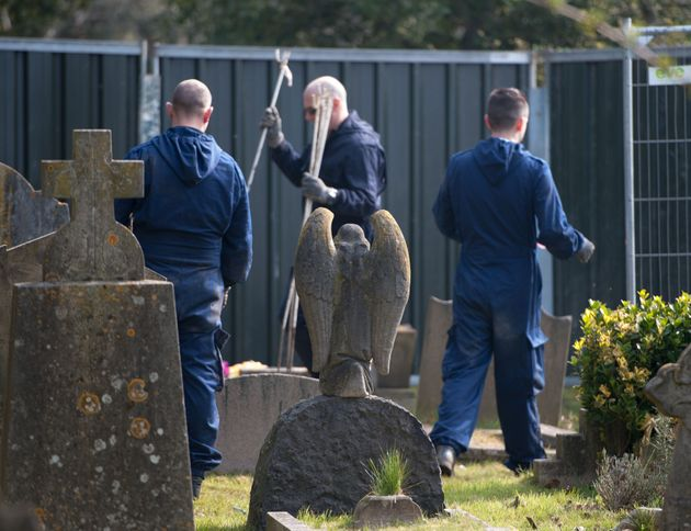 Police excavated part of the churchyard in 2013 but no sign of Lee was