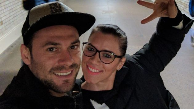 Cristea and her boyfriend,Andrei Burnaz, who was with her when the attack took