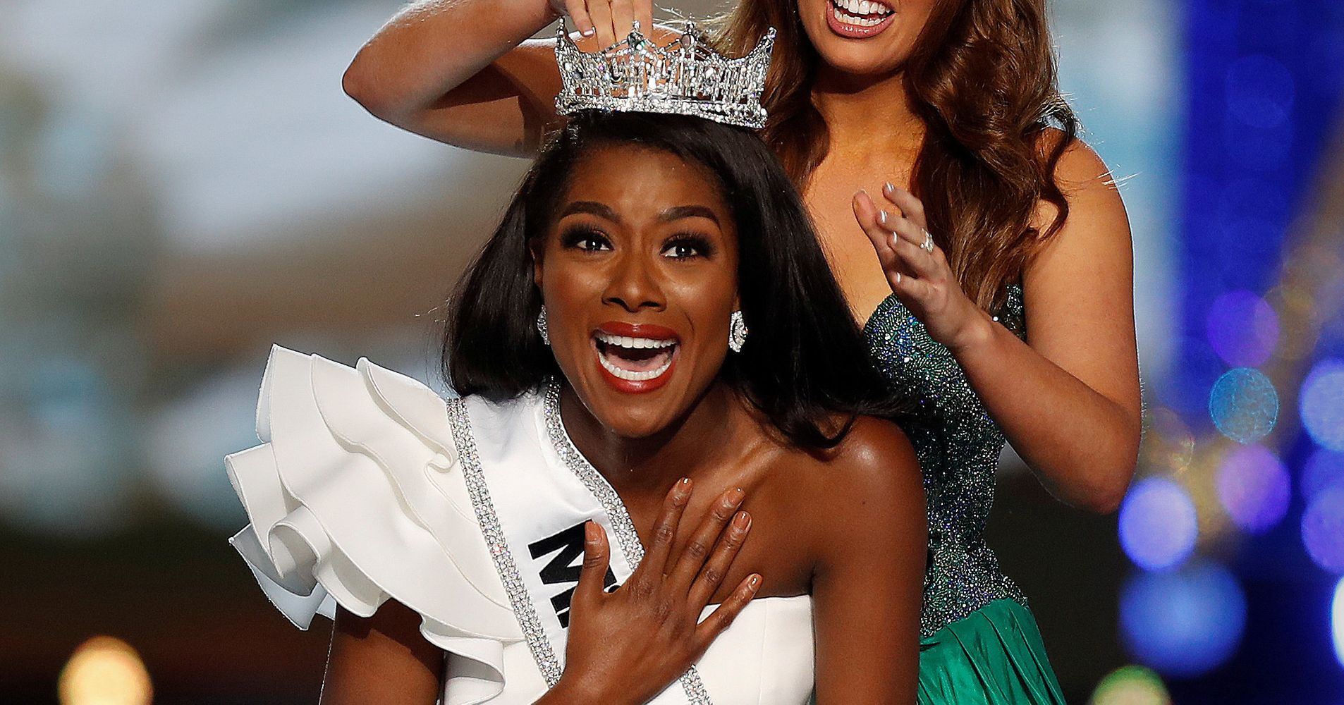 Miss America Nia Imani Franklin Is Happy She Didn't Have To Endure Swimsuit Competition