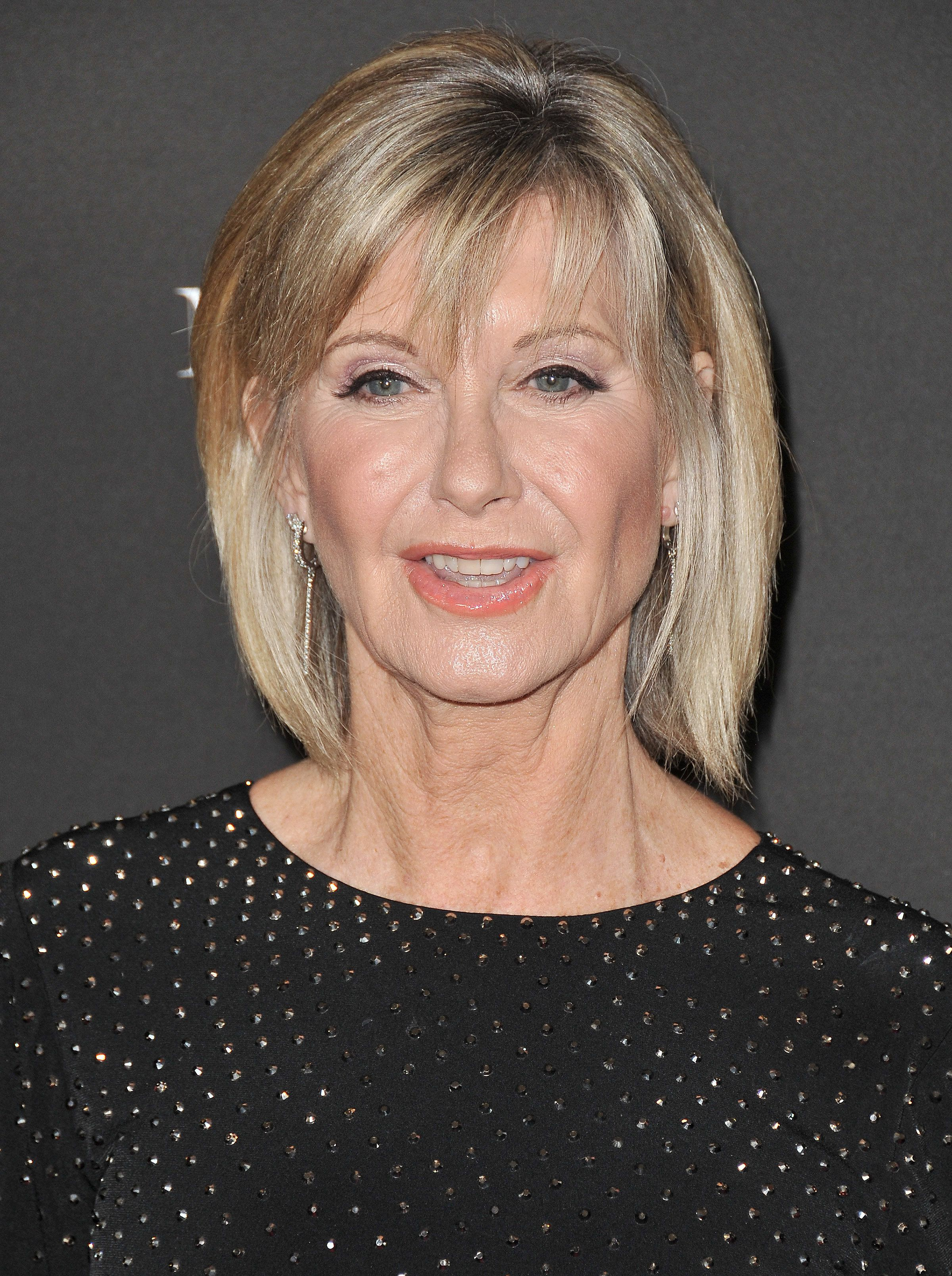 Olivia Newton-John arrives at the 2018 G'Day USA Los Angeles Gala held at the InterContinental Los Angeles Downtown in Los Angeles, CA on Saturday, January 27, 2018. (Photo By Sthanlee B. Mirador/Sipa USA)