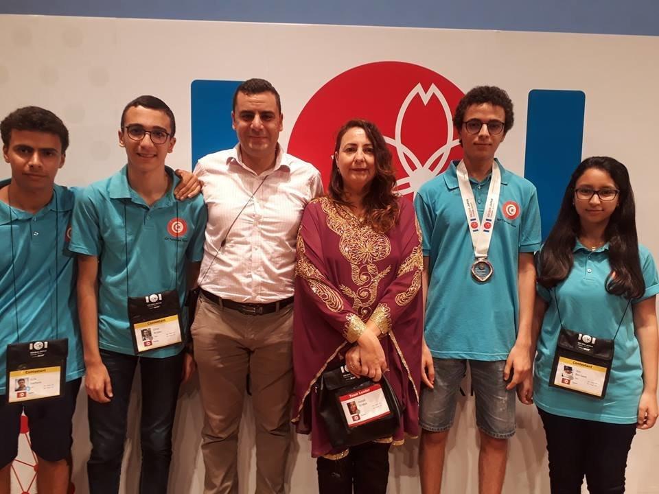 La Tunisie obtient une médaille de bronze aux Olympiades Internationales