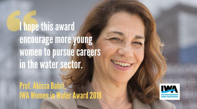 La Tunisienne Akissa Bahri remporte le prix IWA Women in