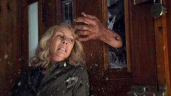 "In ""Halloween,"" JAMIE LEE CURTIS returns to her iconic role as Laurie Strode, who comes to her final confrontation with Michael Myers, the masked figure who has haunted her since she narrowly escaped his killing spree on Halloween night four decades ago."