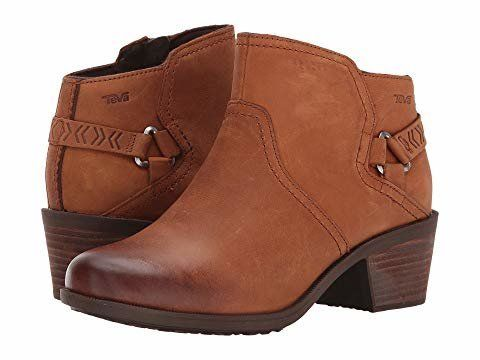 """<strong>Sizes</strong>: 5 to 11<br>Get it <a href=""""https://www.zappos.com/p/teva-foxy-wp-caramel/product/8897899/color/263"""" t"""