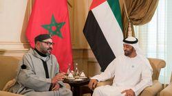 De retour aux Émirats arabes unis, le roi Mohammed VI rencontre le prince héritier d'Abu