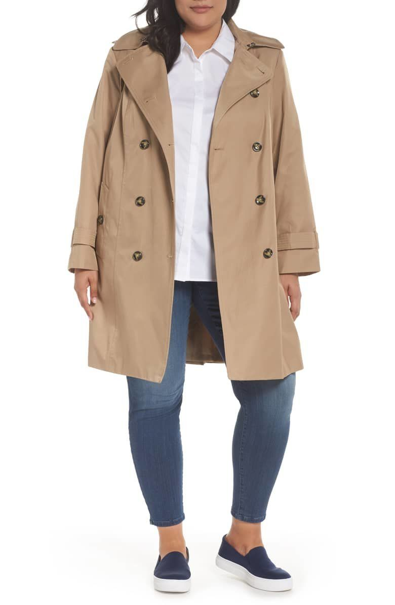 These 11 Practical Trench Coats With Hoods Will Actually