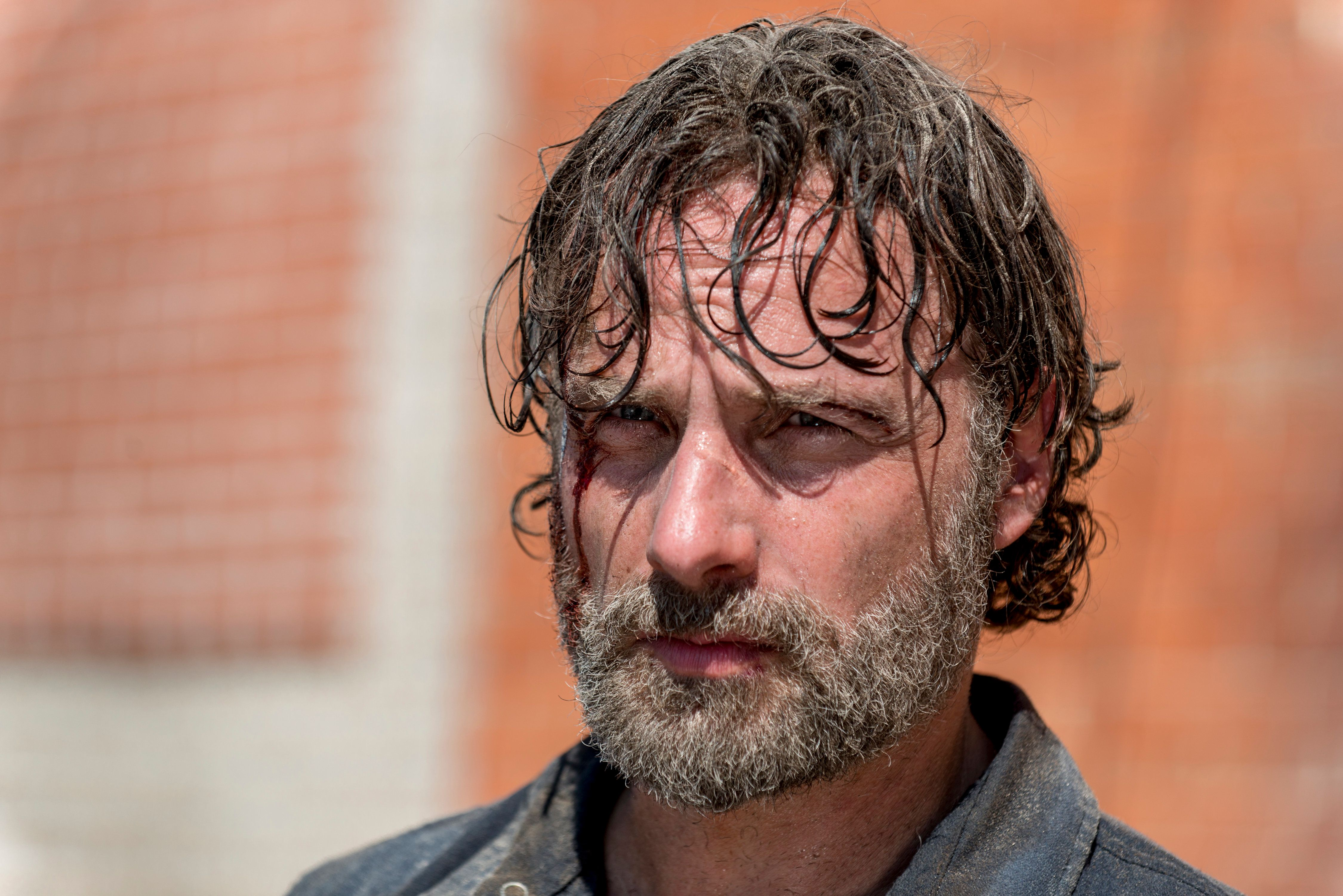 Rick Grimes with his resting Rick face.