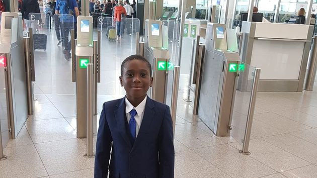 Mohamed Bangoura, 6, Returns To UK After Being Left 'Stateless' In