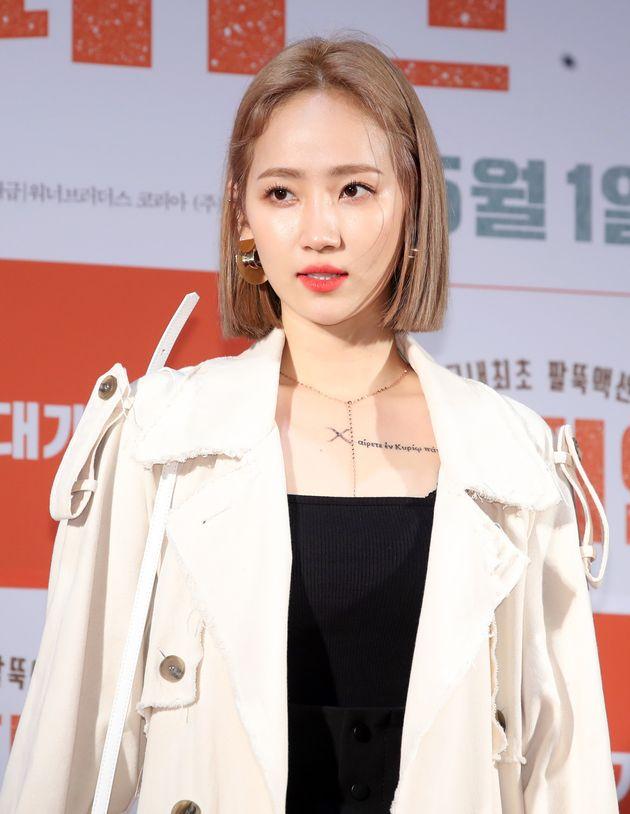 원더걸스 출신 가수 예은이 '부친 사기, 성추행 혐의'에 대해 심경을
