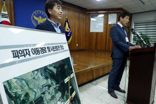 '강진 고교생 살인사건'의 수사가 결국