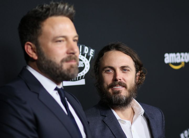 "Ben Affleck (left) and Casey Affleck in 2016. ""He's doing great,"" Casey Affleck said of his older brother, who checked into r"