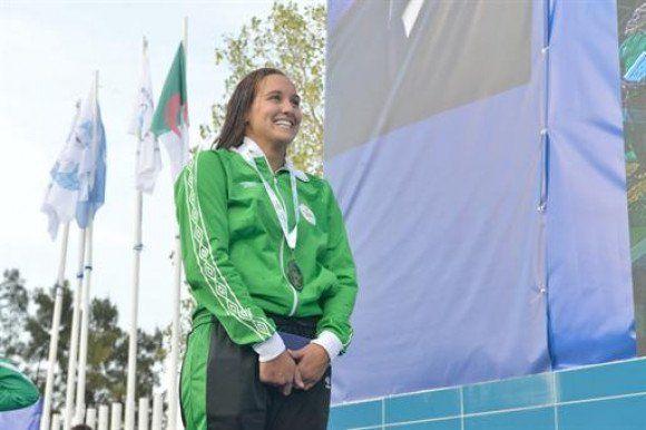 Championnats d'Afrique de natation: l'Algérienne Nefsi Rania en or dans le 400