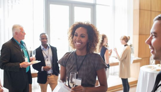 How To Work The Room: 5 Ways To Network Your Way To