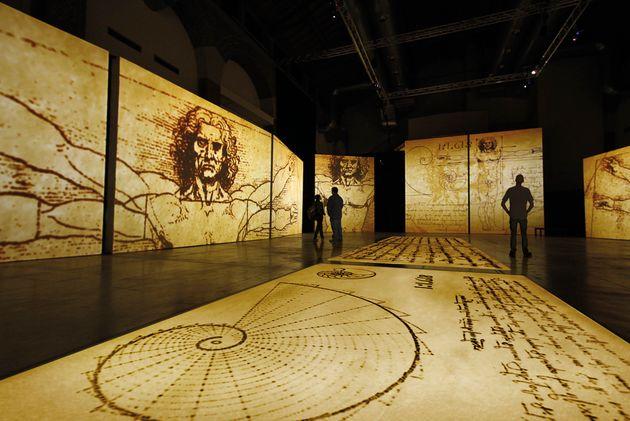 Το «σύμπαν» του ιδιοφυούς Λεονάρντο ντα Βίντσι σε μία έκθεση στην