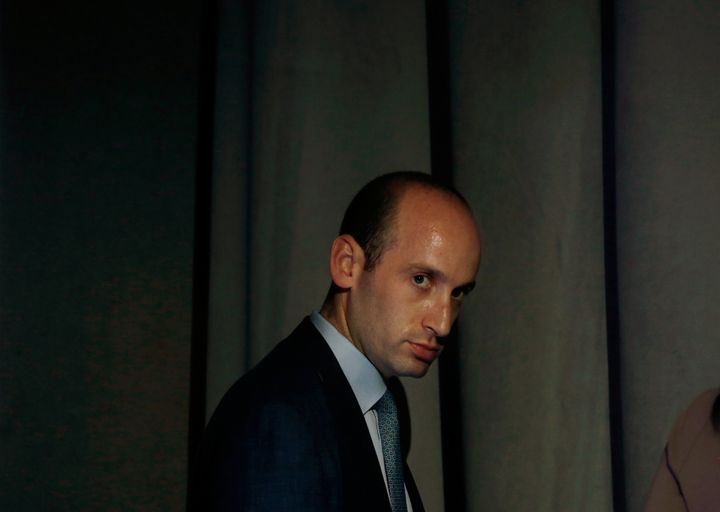 White House policy adviser Stephen Miller is a descendent of Jewish immigrants to the U.S.
