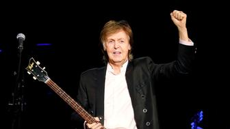 NEW YORK, NY - SEPTEMBER 21:  Sir Paul McCartney performs at Barclays Center on September 21, 2017 in New York City.  (Photo by Taylor Hill/Getty Images)