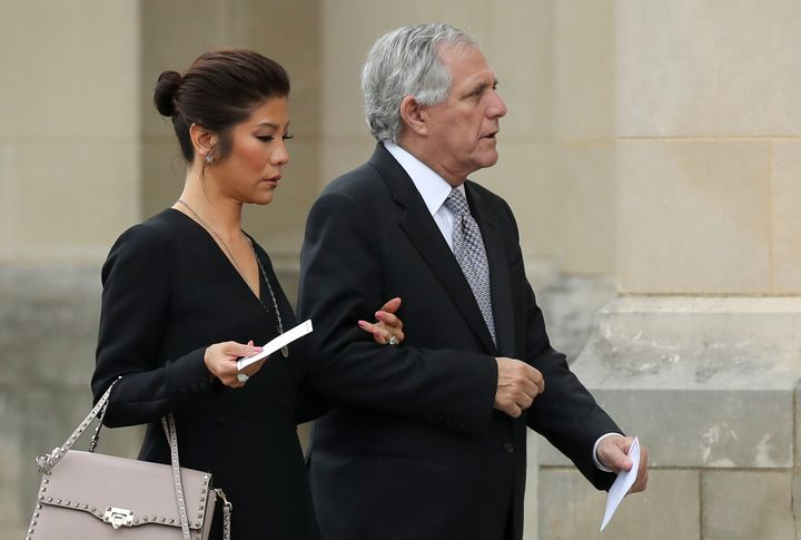 Julie Chen and Les Moonves.