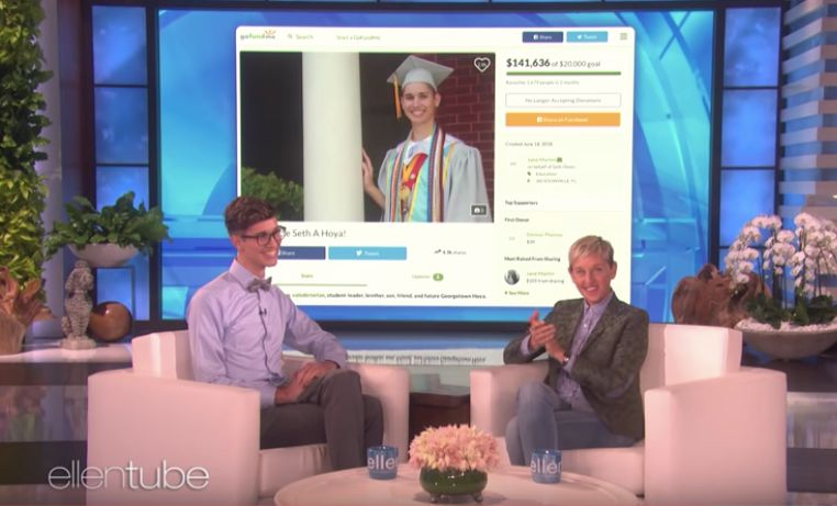 Ellen Gives Gay Valedictorian Rejected By Parents A Heartwarming Surprise