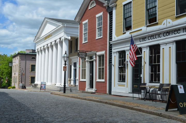 The New Bedford national park includes a 13-block historic district showcasing the famous 19th century port town's cobb