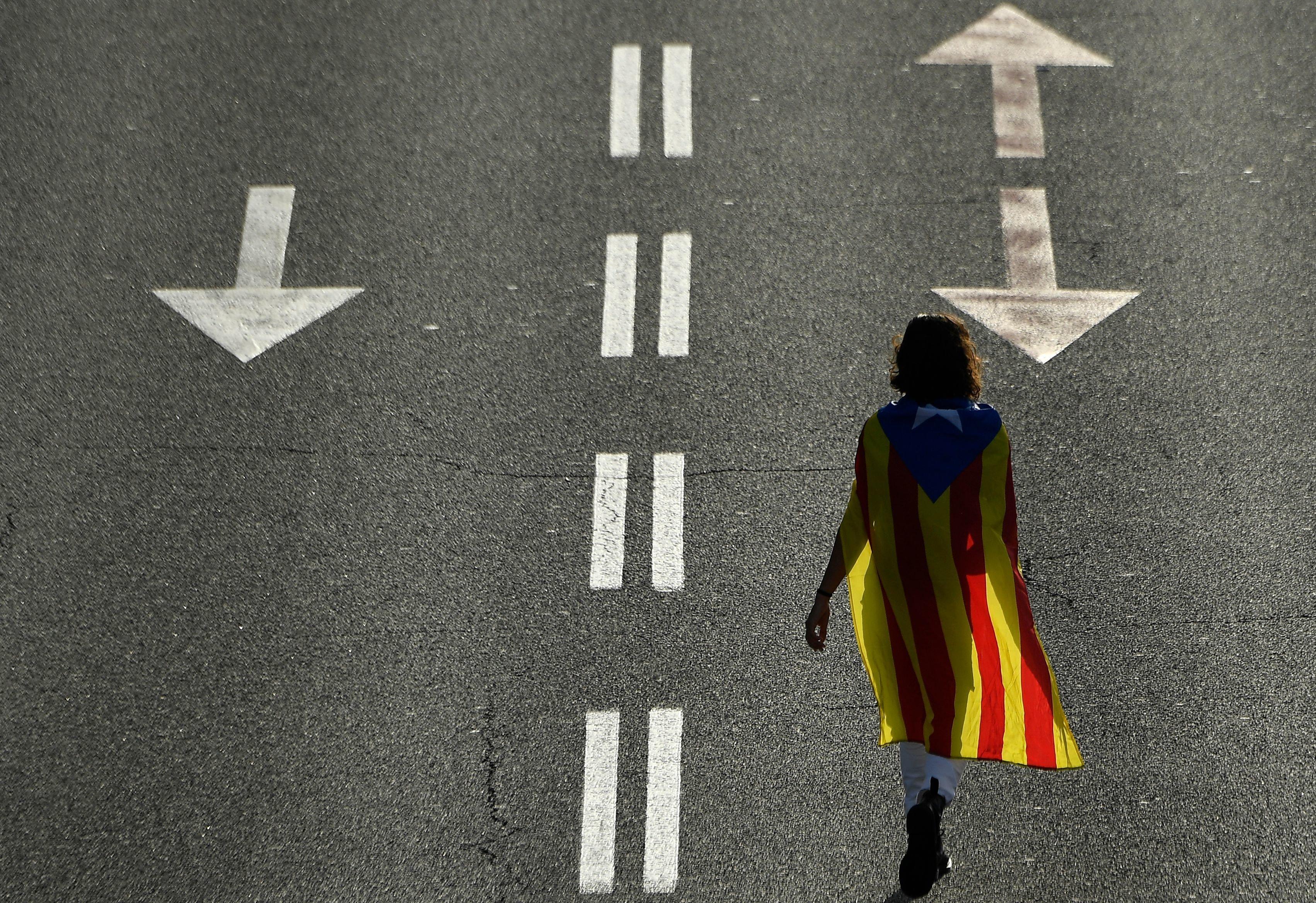 Στους δρόμους ένα εκατ. Καταλανοί για να ζητήσουν και πάλι την ανεξαρτησία