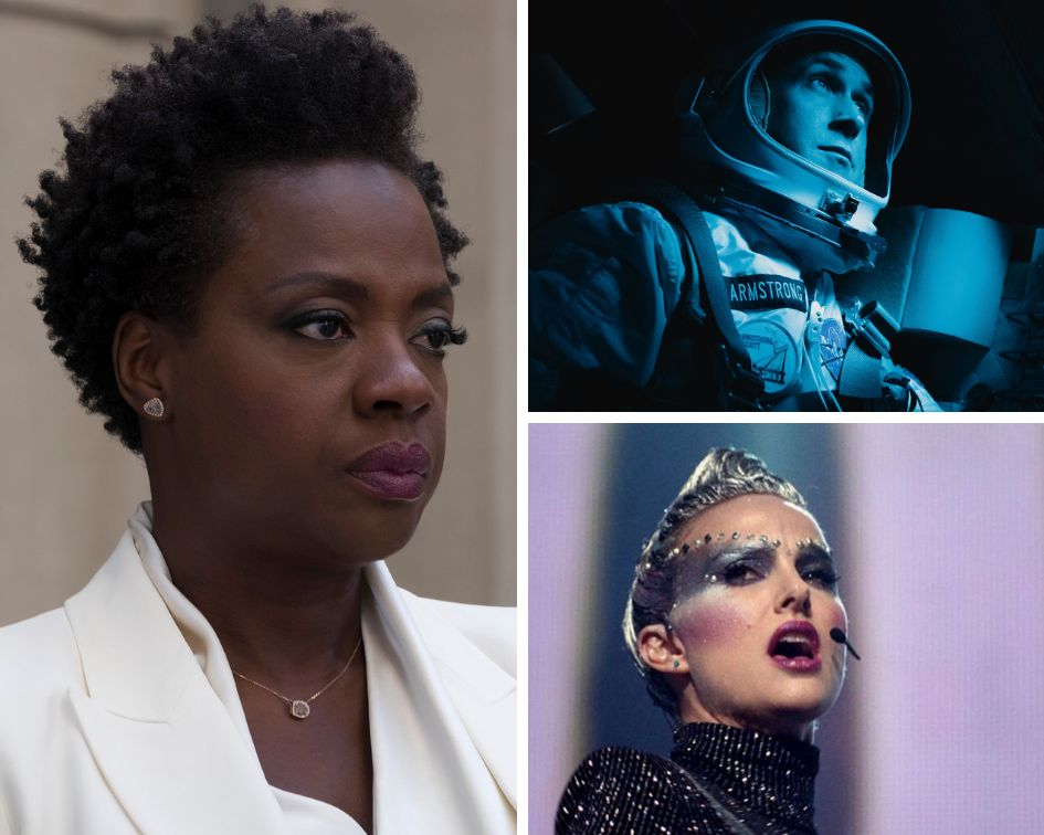 """Widows,"" ""First Man"" and ""Vox Lux."""