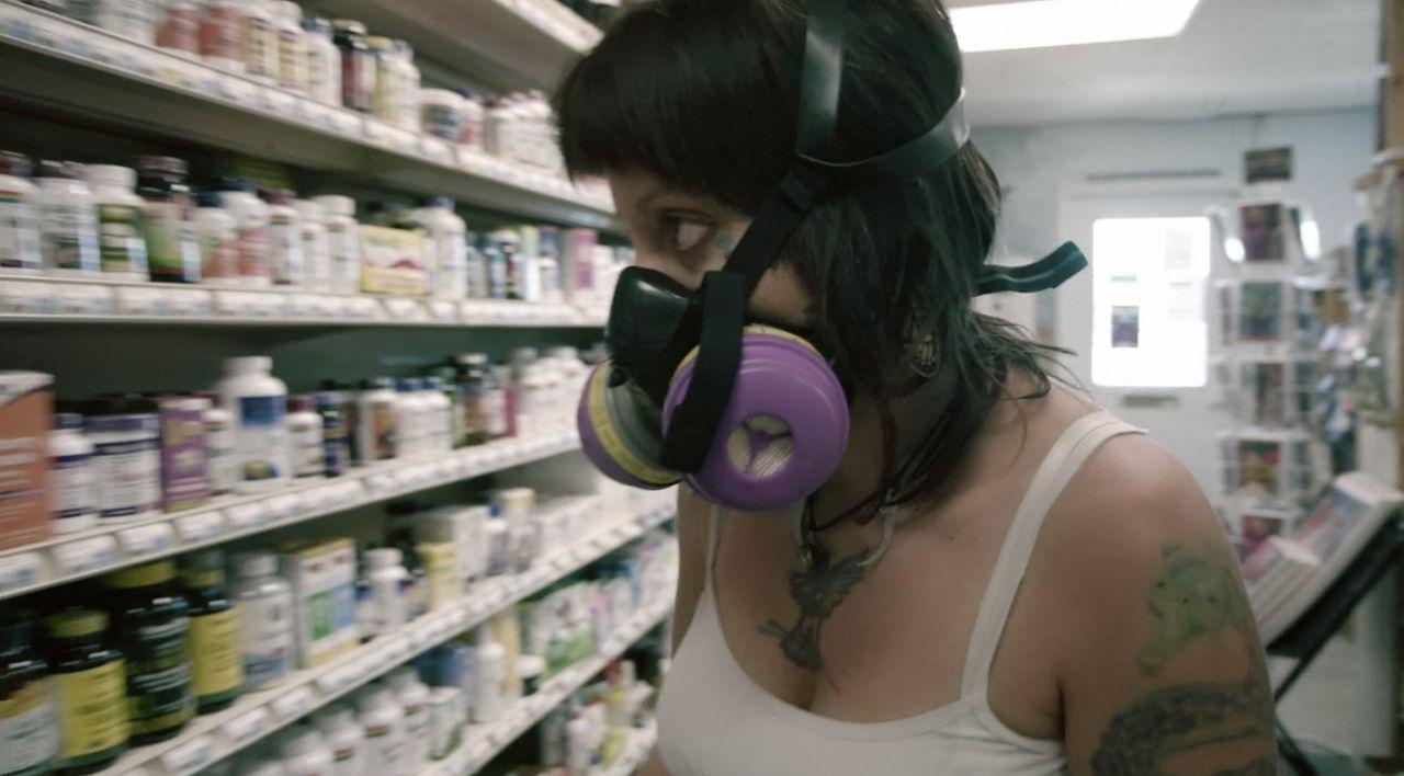 "Bekah Fly in Netflix's ""Afflicted."""