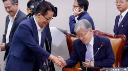 깍듯하게 악수하던 박지원과 여상규는 왜 고성 주고받는 설전 벌인