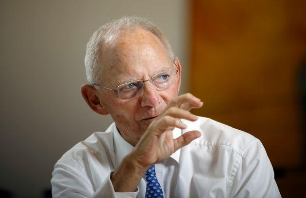 Wolfang Schäuble, der Präsident des Deutschen