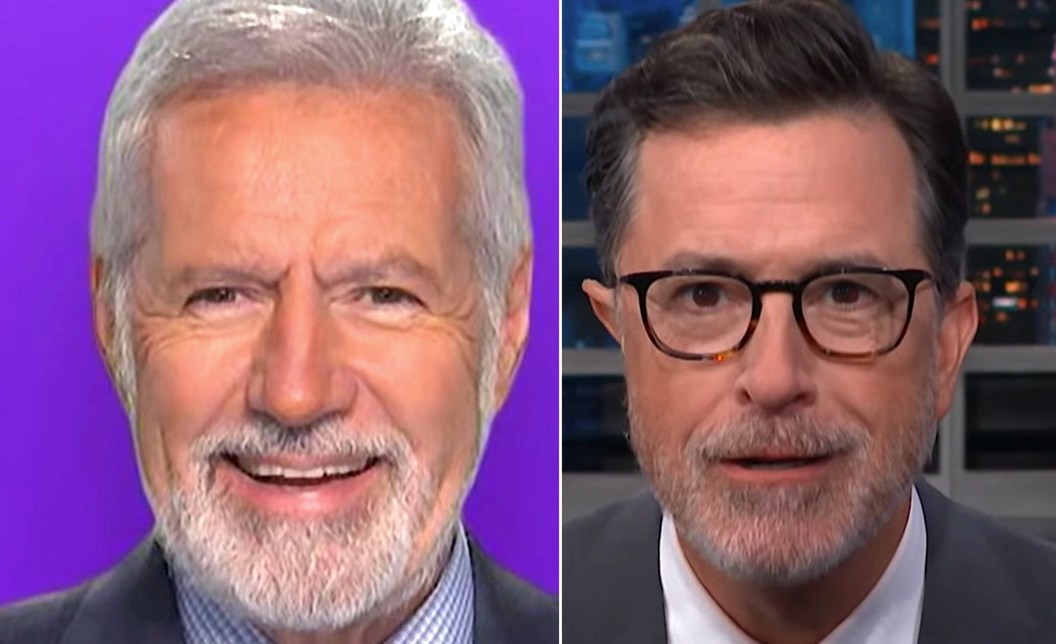 Things Could Get Very Hairy Between Stephen Colbert And Alex Trebek