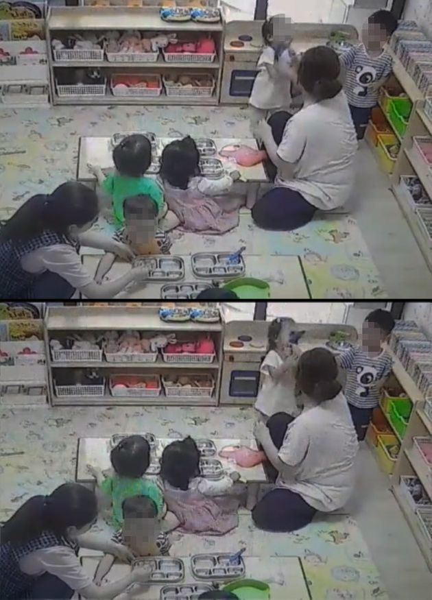 경북 구미에서 어린이집 아동학대 사건이 또