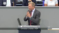 FDP-Chef Lindner bringt in Rede auf den Punkt, was im Bundestag falsch läuft