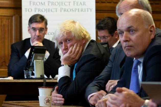 Αν το χάος που επικρατεί στην πολιτική σκηνή στο Brexit μπορούσε να χωρέσει σε μια εικόνα θα ήταν