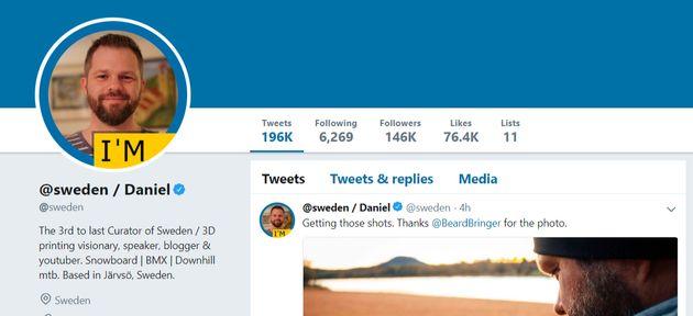 이제 스웨덴 트위터 계정은 더이상 '보통 국민'이 운영하지