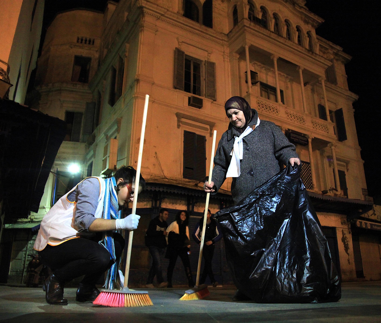 Zebletna: Les Tunisiens nettoient les rues, le 15 septembre