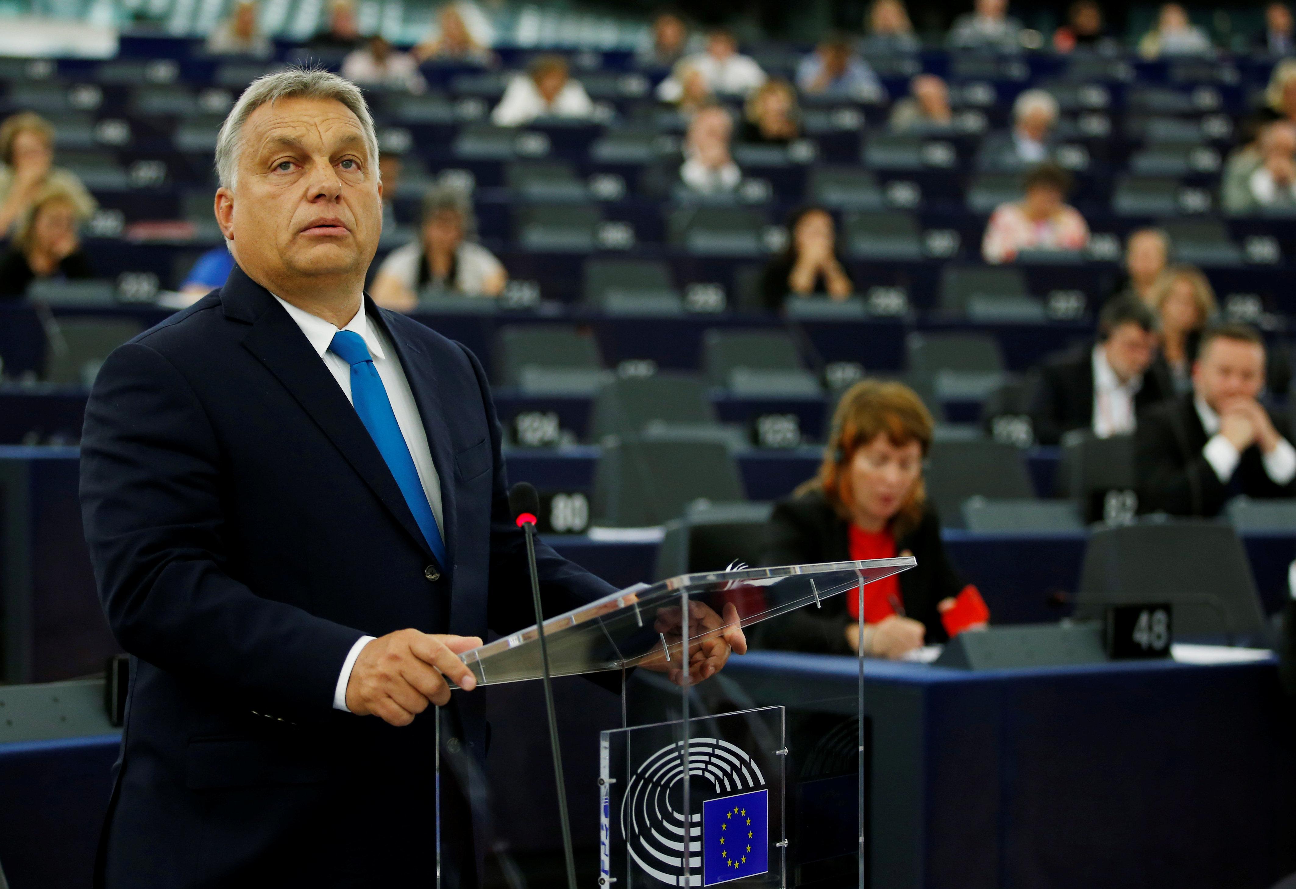 Το Ευρωπαϊκό Κοινοβούλιο ενέκρινε την ενεργοποίηση της διαδικασίας επιβολής κυρώσεων κατά της Ουγγαρίας