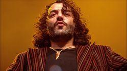 Le chanteur algérien Rachid Taha est