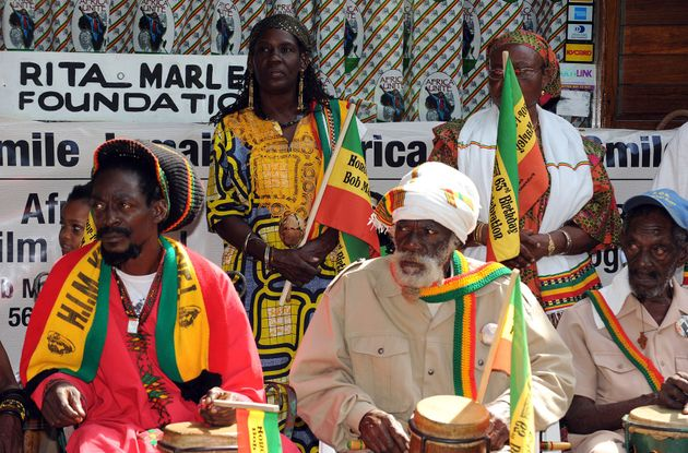 Many devout followers of Rastafarianism wear the colours in their daily