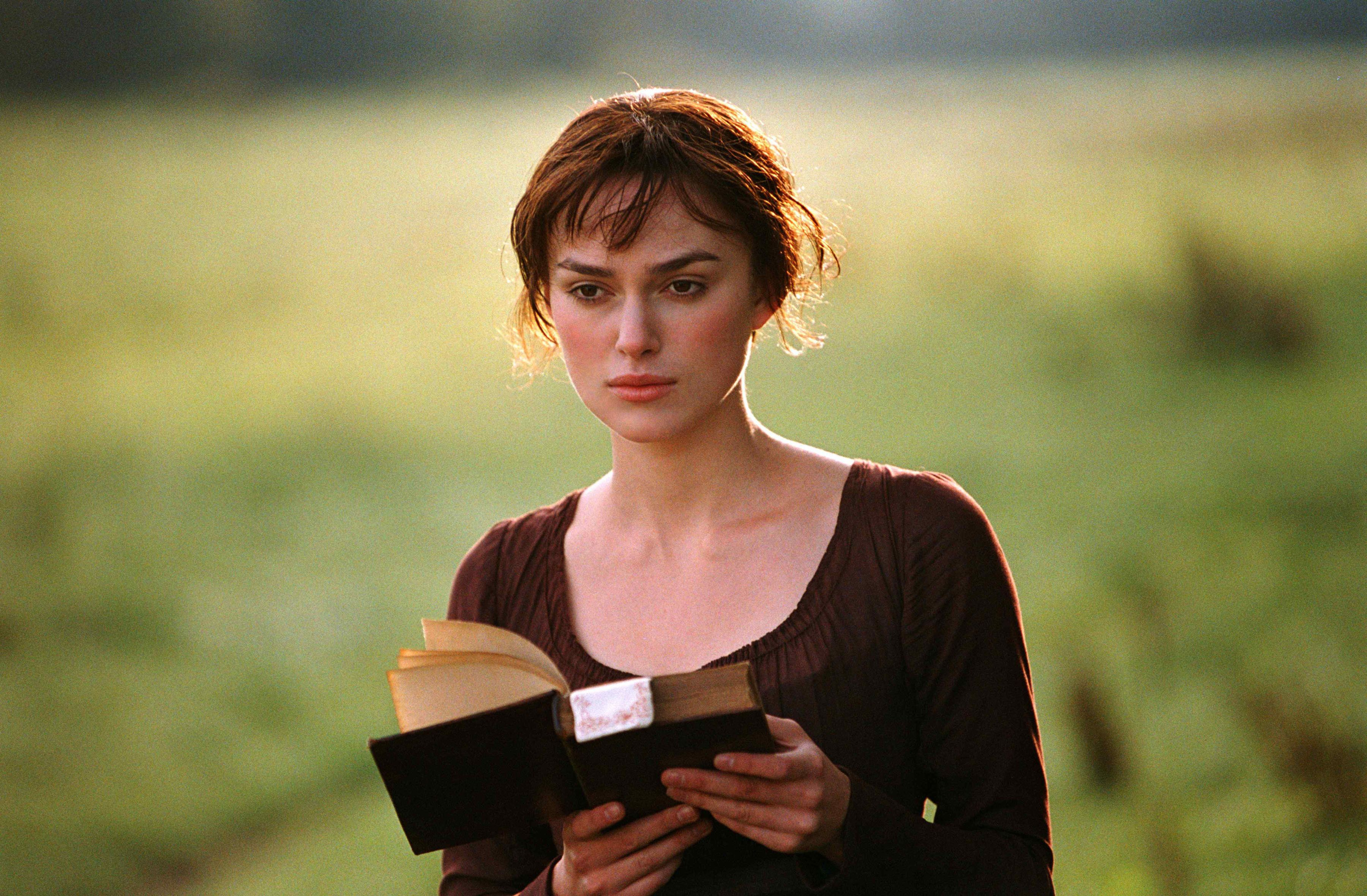 Keira played Elizabeth Bennet in the 2005 big screen adaptation of 'Pride And