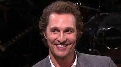 Matthew McConaughey Says He Threw Baby 15 Feet To Avoid Charging