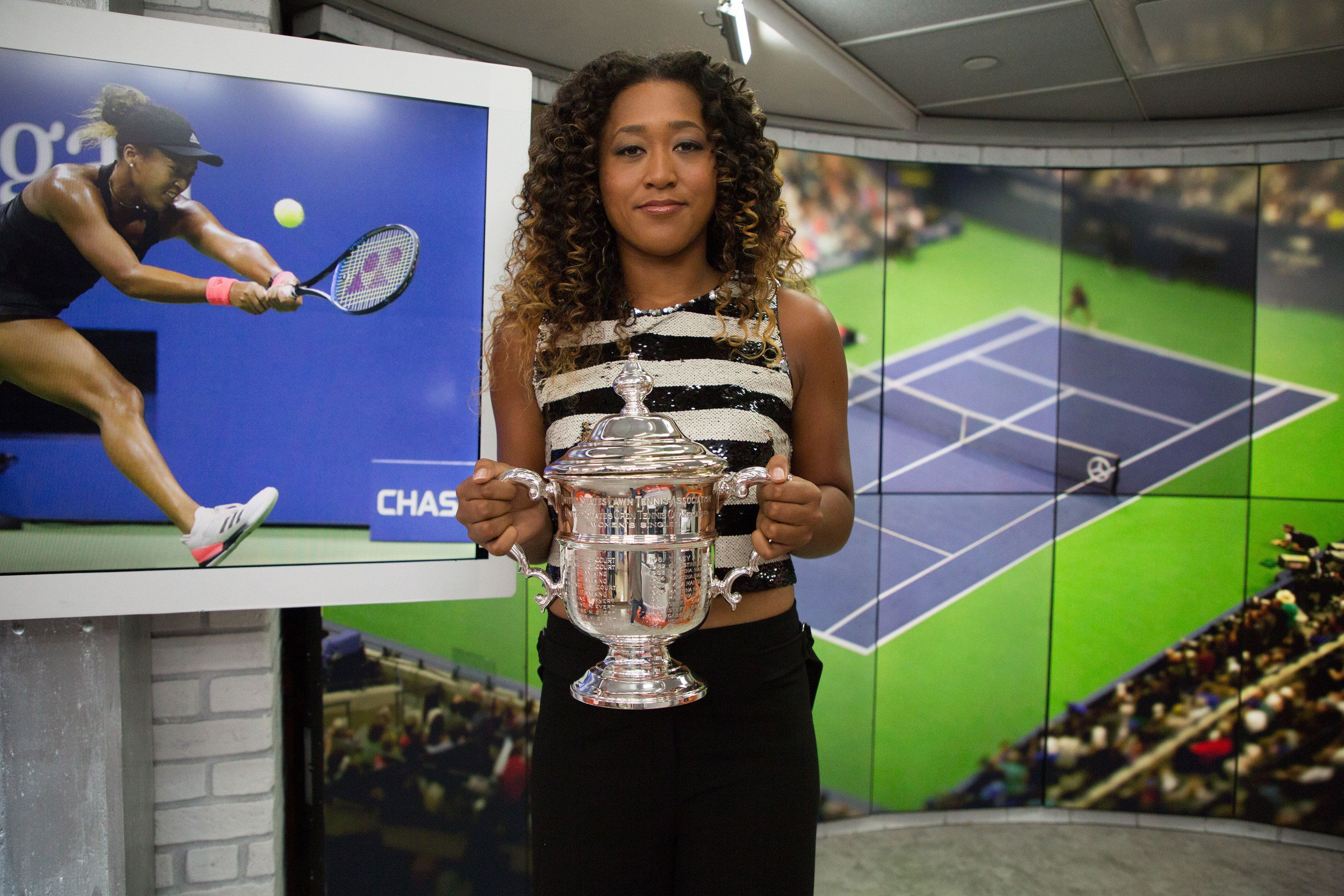 TODAY -- Pictured: Naomi Osaka on Monday, September 10, 2018 -- (Photo by: Nathan Congleton/NBC/NBCU Photo Bank via Getty Images)