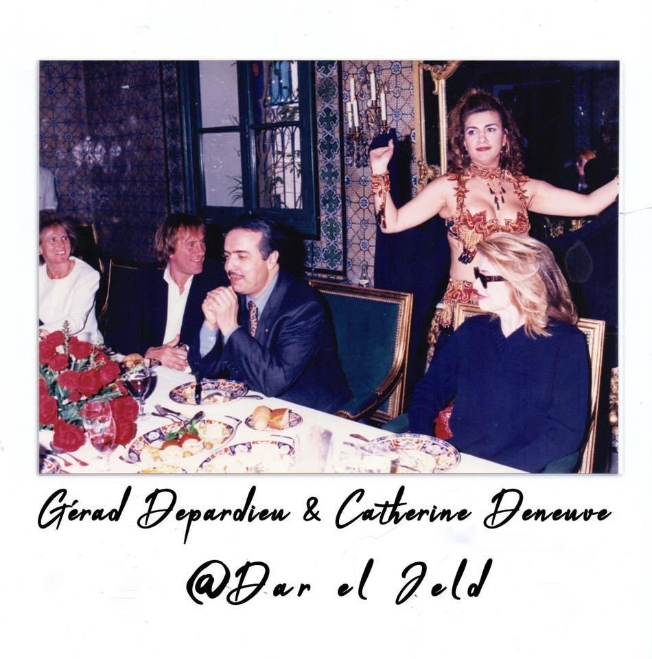 Quand Gérard Depardieu et Catherine Deneuve dînaient à Dar El