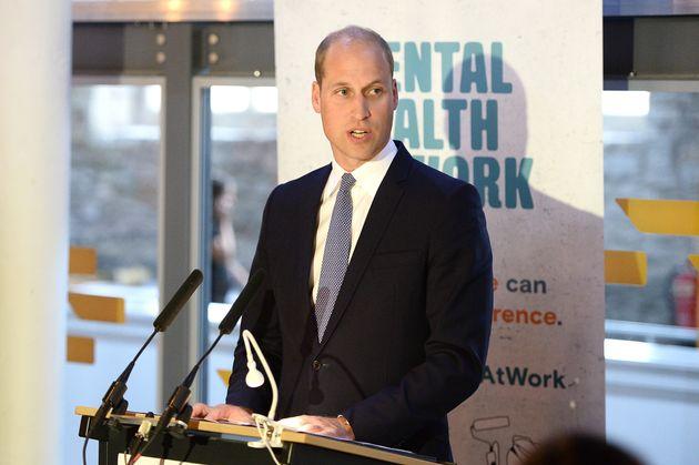 Prinz William stellt am 11. September eine neue Website für psychische Gesundheit am Arbeitsplatz...