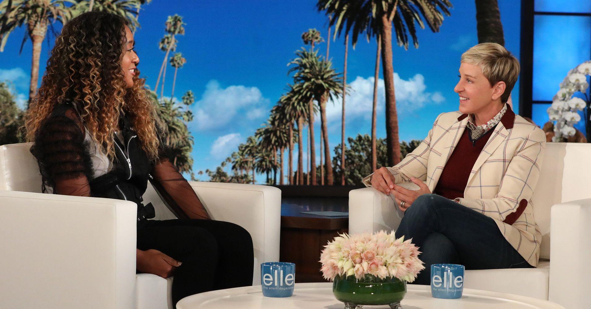 Naomi Osaka Tells Ellen DeGeneres What Serena Williams Whispered To Her