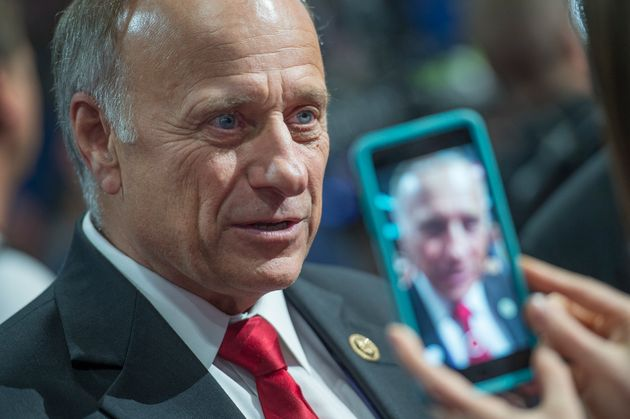 Republican Rep. Steve King Retweets A Known White Supremacist On Twitter...