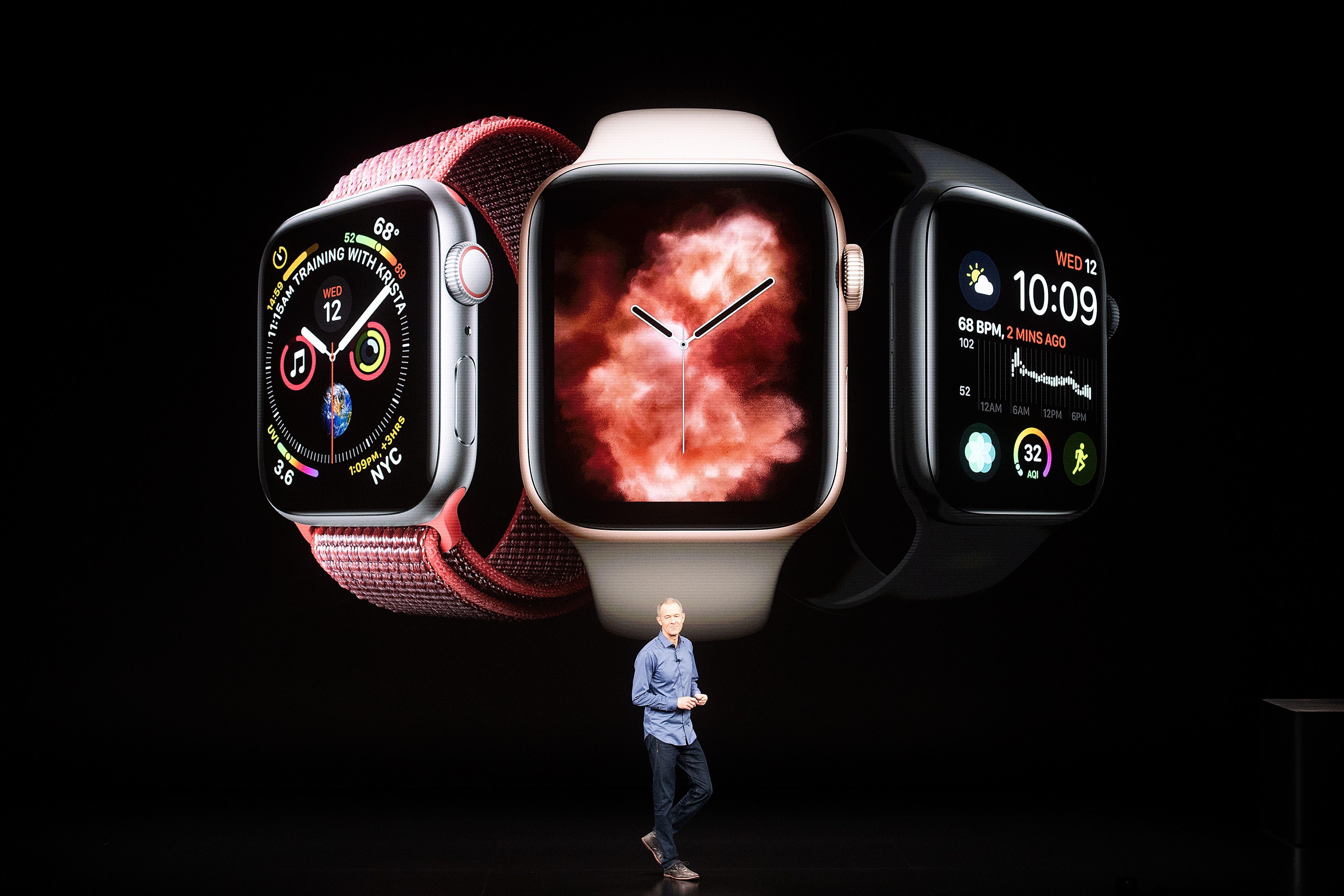애플워치 시리즈4의 가장 큰 변화는 '크기'가 아니다