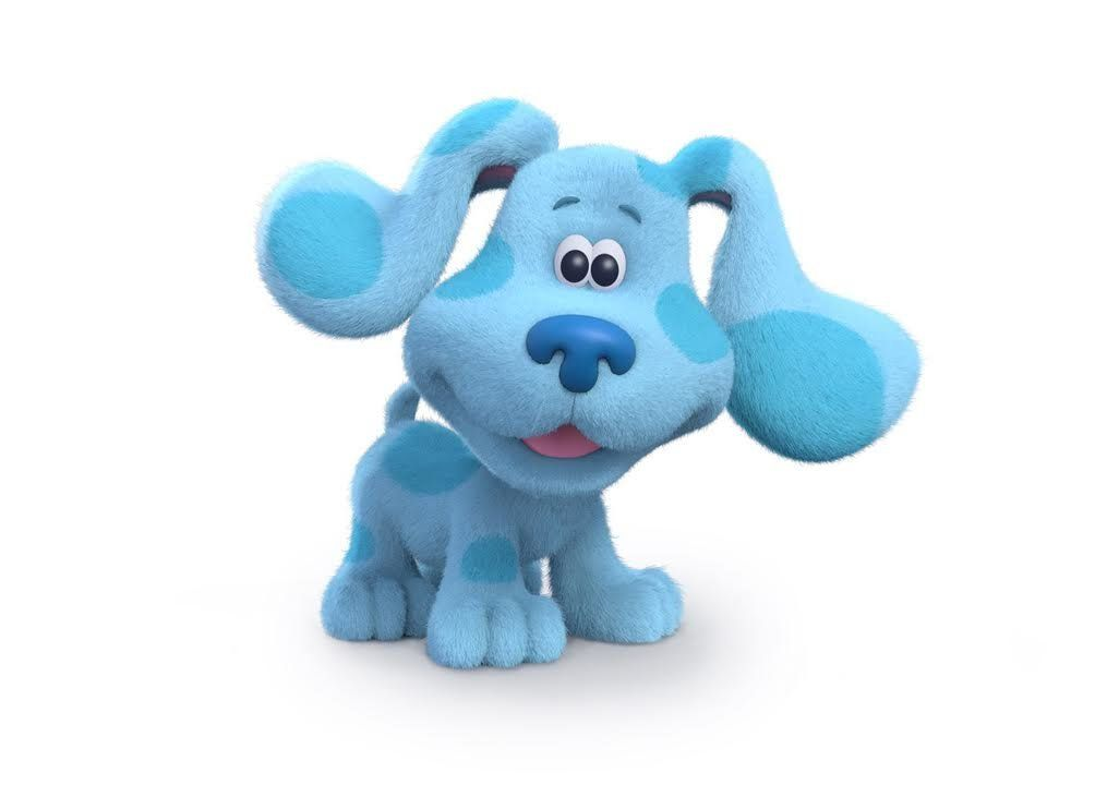 "Blue has a new look in ""Blue's Clues & You."""