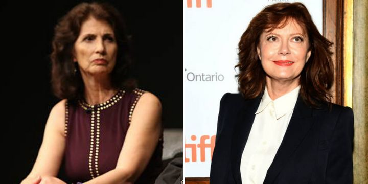 """Diane Foley described sitting through a screening of the film """"Viper Club,"""" which stars Susan Sarandon, as a """"very upsetting"""